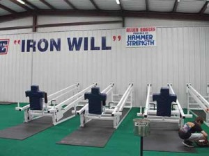 Allen Texas High School Austin Leg Drives Austin Leg Drive football leg strength training equipment by Four Austins Inc. Texas